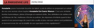 La Parisienne Life - 25janvier2016