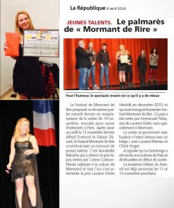 Mormant Culture-Avril2016