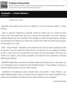 Critique Humoristes-19mars2016